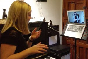 private instrumental lessons online-only