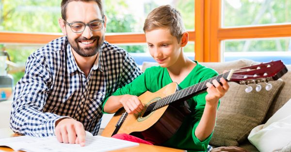 private instrumental lessons at home
