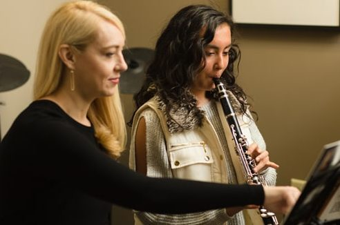 clarinet lesson at lycaeum music