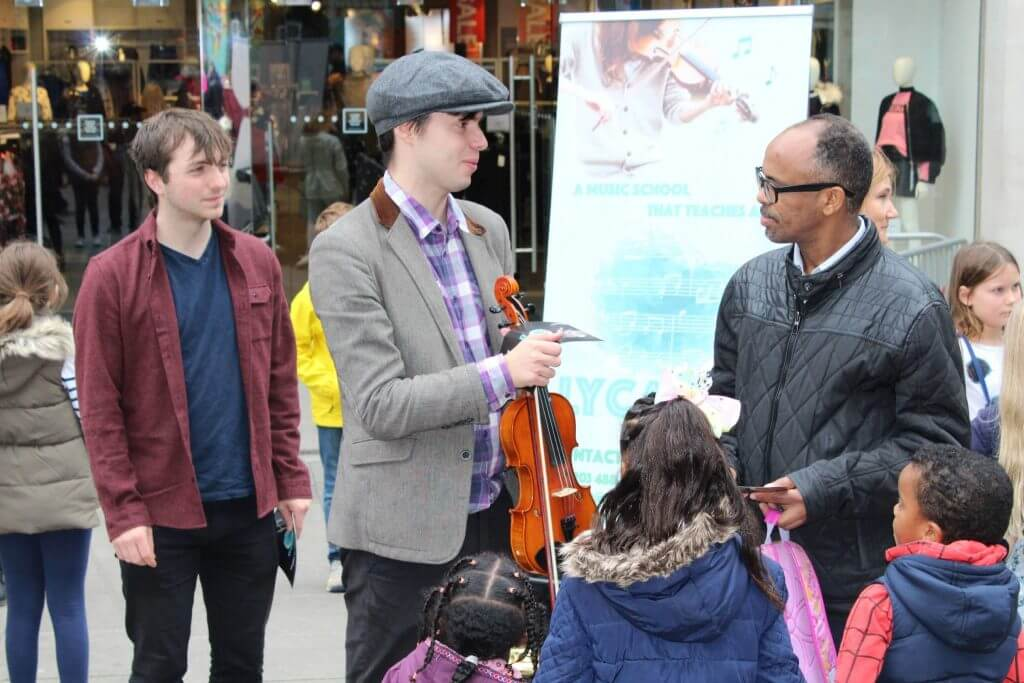 violin lessons anerley, bromley, se20