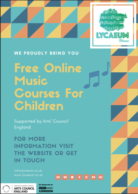 music in a time machine (10-12yo's) - 6 weeks - pick your weekly time slot