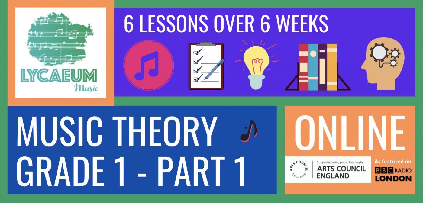 abrsm music theory: grade 1, pt.1 (7-9yo's) - pick your weekly time slot