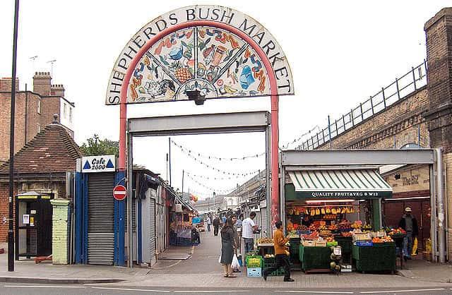 shepherd's bush market entrance