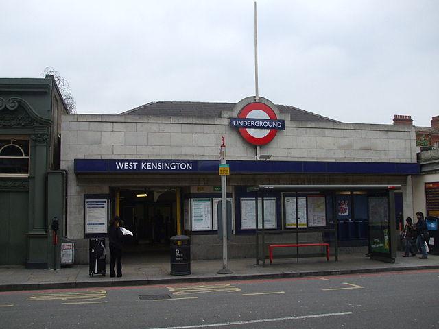 west kensington tube station