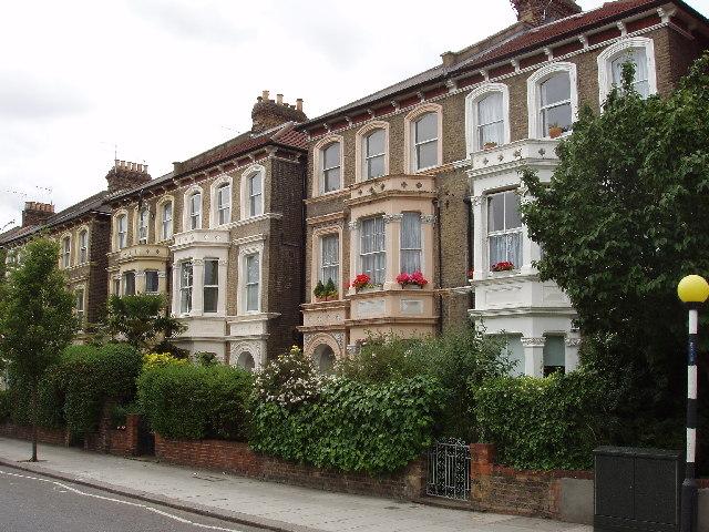 north kensington terraced houses