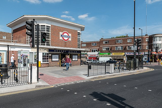 bounds green station