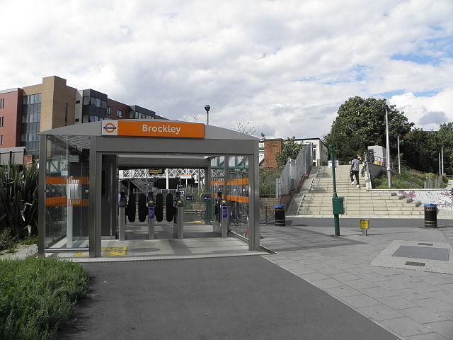 brockley station entrance