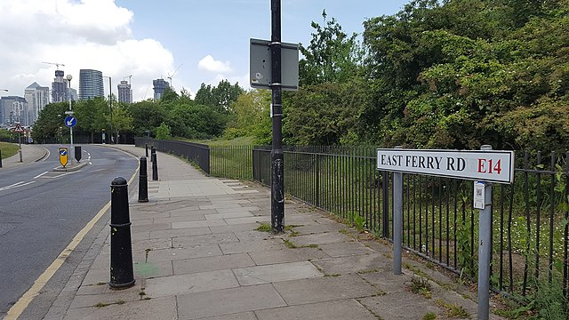 east ferry road isle of dogs