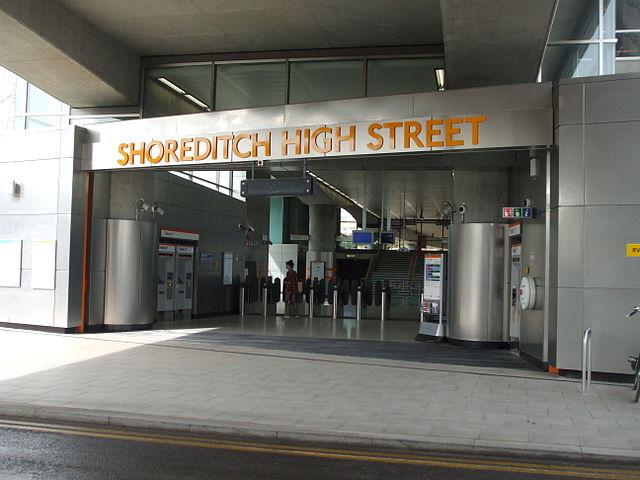 shoreditch station