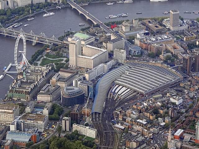 waterloo aerial view