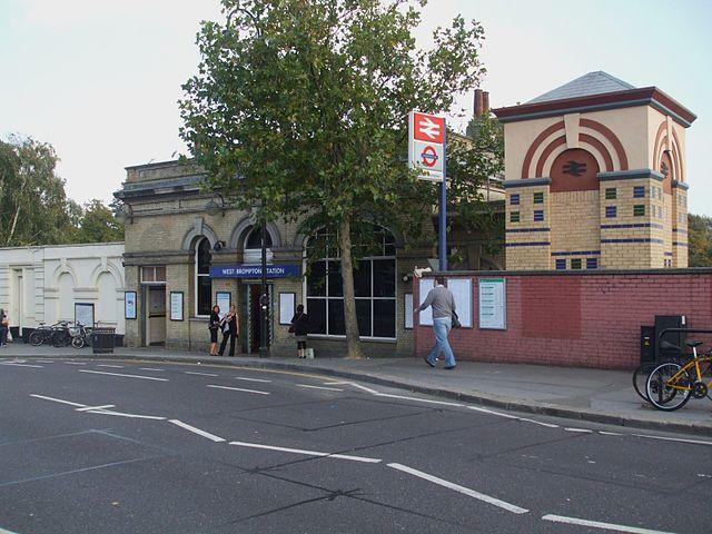 west brompton station