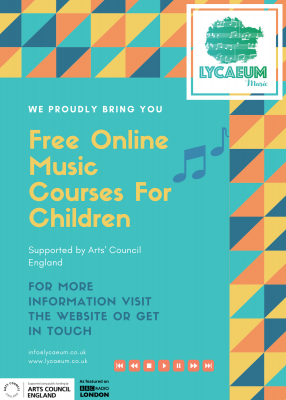 music styles: an introduction (5 - 7yo) - pick your weekly time slot