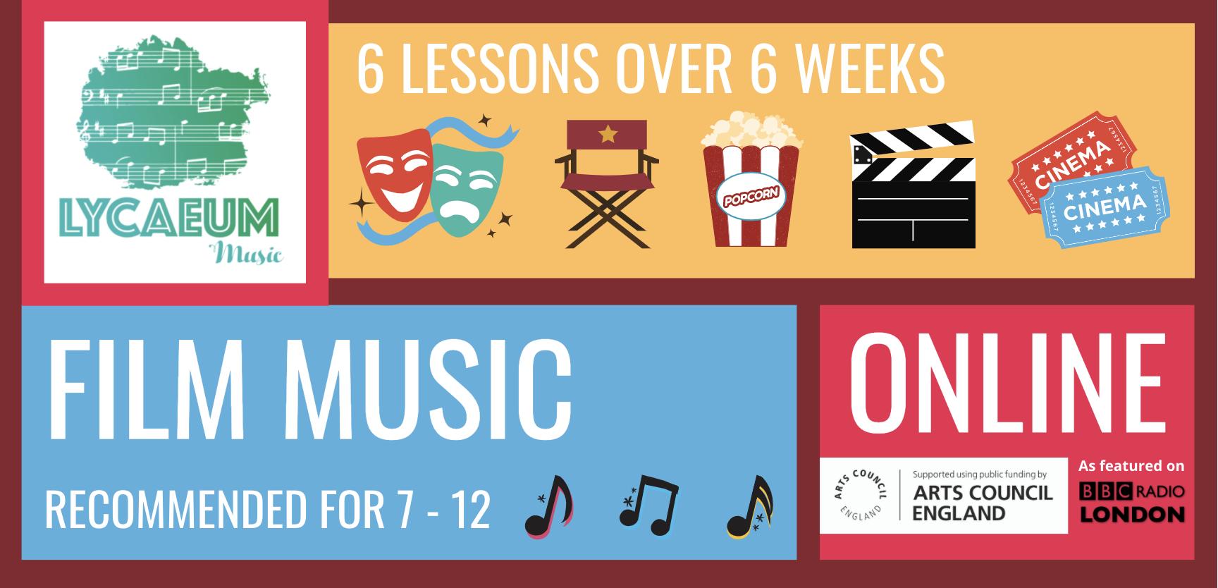 film music (10-12yo) - pick your weekly time slot