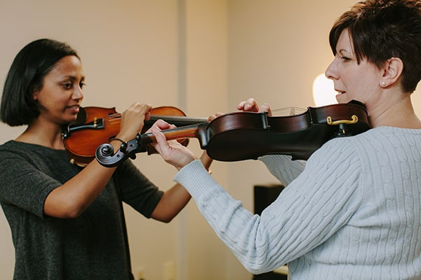 violin lessons at home or online