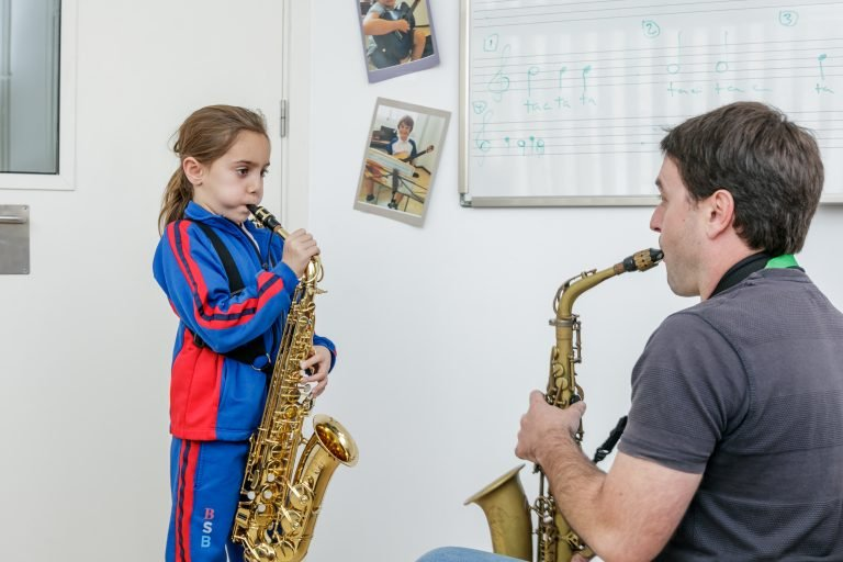 saxophone lessons at home or online