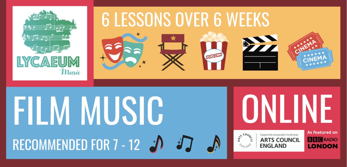 film music (7-9yo) - pick your weekly time slot