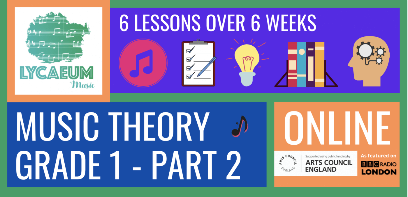 abrsm music theory: grade 1, pt.2 - pick your weekly time slot
